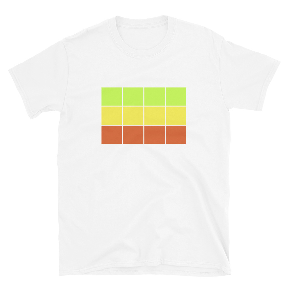 "Rent a Girlfriend ""Warm Color Grid"" - T-Shirt - Stealth Weeb"